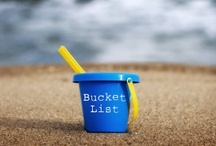 BUCKET LIST / What I think I want to do before I kick the bucket.  / by Diana Carson
