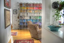 Books! Books! Books! / Books are for reading & decorating & dreaming! / by Dani Mullin