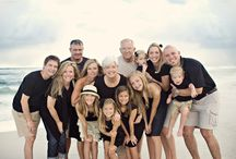 Large family beach shoots / by Angie Seaman