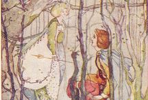 SCOTTISH FOLKLORE / Thomas the Rhymer and the Elf Queen/ Tam Lin / by Chloe Hardy