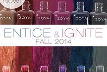 Zoya Entice and Ignite - Fall 2014 / by Zoya Nail Polish