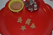 Christmas play dough / by Stephanie Brown