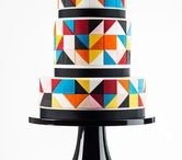 contemporary wedding cakes / by Lindy Smith