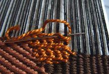 Weaving, telar manual , loom / by Елена Ширинова
