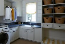 Laundry rooms / by Barbie Furber