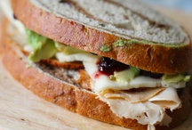 Healthy sandwich recipes / by Hannah Victoria