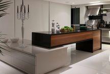 Cozinha integrada / Design moderno / by Adriana Gamboa