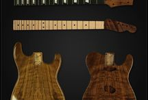 Featured Guitar Wood Types / Learn the difference in the types of wood used to create guitar bodies and necks. / by Warmoth Custom Guitar Parts