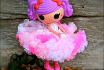 lalaloopsy stuff! / by Becky Jarrie