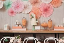Girl's Bathroom add on / decorating ideas/colors for the new add on / by Mosey Photography