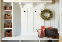 Mudroom/Laundry / by Lindsay Rizza