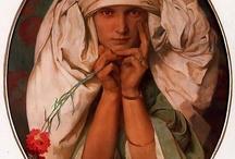 Alphonse Mucha / Art Nouveau / by La Clocha