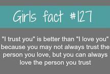 Girls Fact / by Bridget Murphy