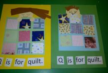Letter Q: quilt / by Izzie, Mac and Me