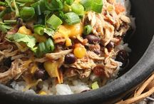 healthy crockpot dishes. / by Jenna Marie