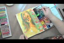 Art Journal tutorials / by Judy Williamson