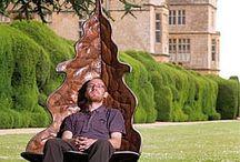 Farm - Garden Swing Chairs / by Christine E Stout