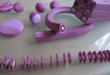 con le mani... / quello che si può creare con filo, perle, fimo e qualsiasi altra cosa... / by MariaCarla Rossi