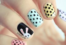 Darling digits / Nail art / by Mere C