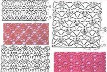 graficos_crochet / by hilos e hilanderas