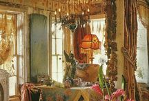 Dine in Bohemian Gypsy Room~ / by Angelina Isola