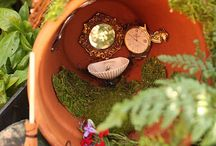 Fairy garden / by Theresa Pufpaff