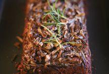 Vegan Recipes - main dish loafs / by Kathy Hester