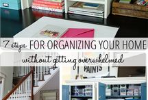 Organize Me! / Where all the great ideas for organization are collected. / by Kim Letellier