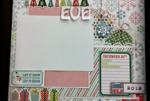 Scrapbook Layout Ideas - Christmas / by Cathy Downes