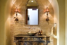 Rustic bathrooms / by Michelle 'Russell' Forst