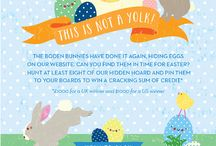 Boden Easter Egg-Stravaganza! / by Stephanie A'Hearn