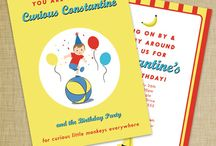 Curious George Party / by Dizzy Design Studio