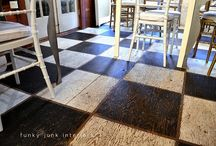 Decor: FLOORS / by Donna - Funky Junk Interiors
