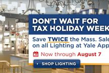 MA Tax Free Weekend 2014 / Every year in August, MA gov exempts all taxes. This year its August 16 &17. See the latest deals and specials here first at Yale. / by Yale Appliance