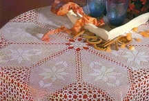 Crochet tablecloth / by Dorra Turki