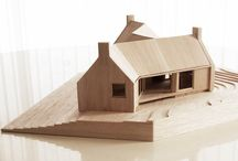 Architecture, maquettes, plans. / maison, site, immeuble / by Guy Combes
