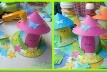 Per i bambini kids crafts / by Barbara Parietti