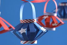 Fourth of July Kid Crafts / by Monica Olivera