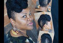 Natural Hair Styles / by Dr.B-B PhD