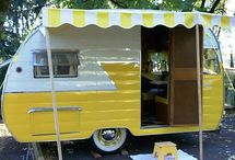 vintage camper trailers / by Sharon Cutbirth Hollenbeck Malenke