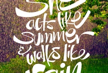 I love Summer / by Alana Mobley