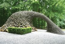 Yard art and exterior ideas. / Examples of yard art, inspiration, and ideas. / by Ron DeMattio