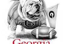 Georgia Bulldogs / by Brittany Worley