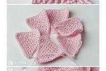 crochet flowers / by Lindsay Streem