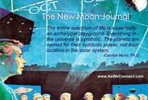The New Moon Journal / Exploring the mystery me through the journey of the Moon. / by MicheleGrace | Life Coach