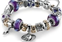 Charm Bracelet Addiction / It all started with a Pandora bracelet, then along came Chamilia beads ...I can't stop building charm bracelets...here is my wishlist and some ideas / by Mary Kay Ross