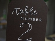 Wedding Table Names / by The Moat House