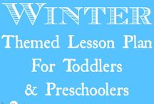 {January} Preschool Learning / by Amber Qualls