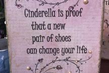 Cinderella Shoes / by Kathy