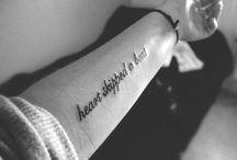 Tattoos :) / by Macie Meadows
